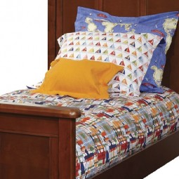 Fitted Comforter Twin Journey Plaid