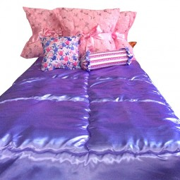 princess castle purple & pink bunk bed hugger collection