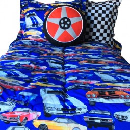 Cars Bedding for Bunks