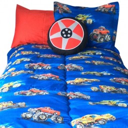 fat wheel bunk bed comforter